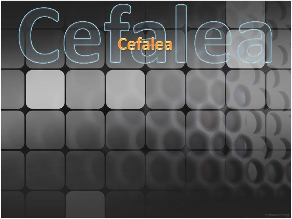 Cefalea Cefalea