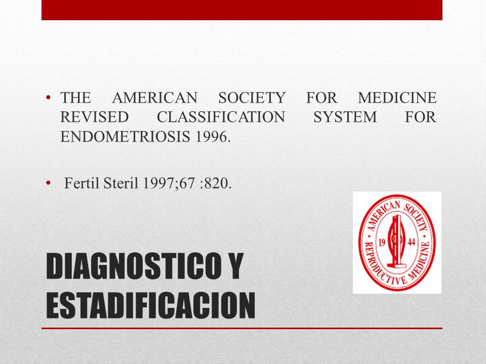 DIAGNOSTICO Y ESTADIFICACION