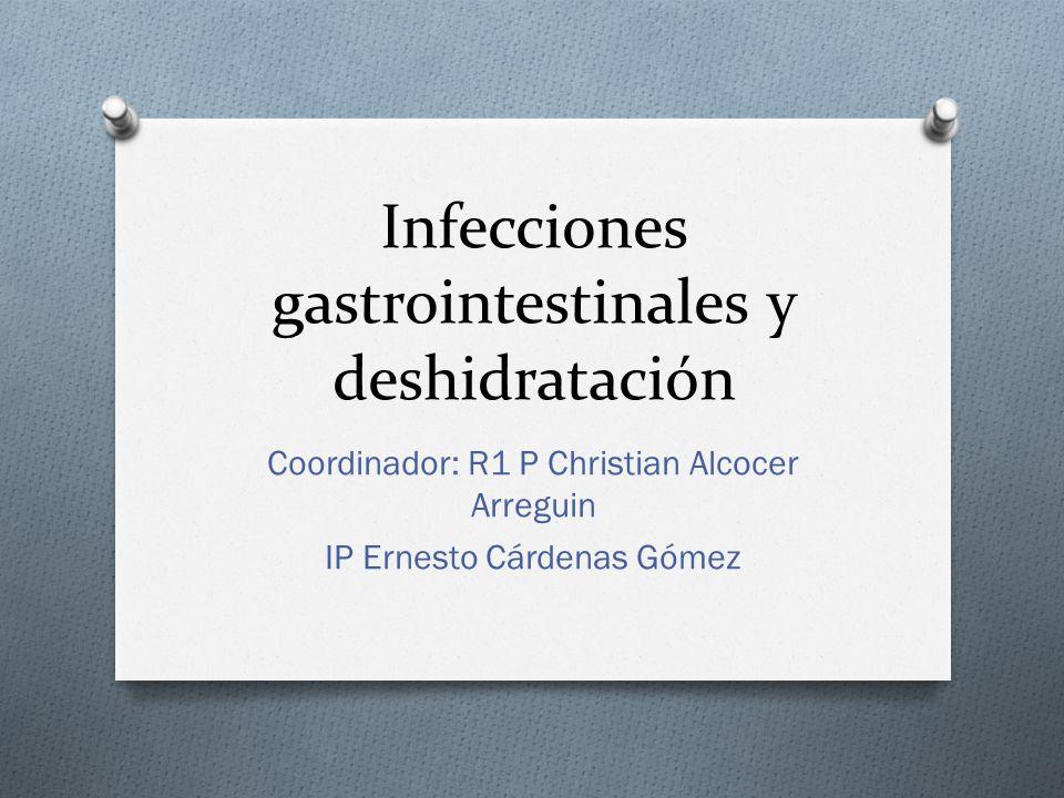 Infecciones gastrointestinales y deshidratación
