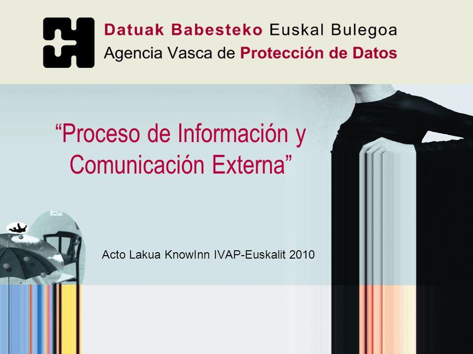Proceso de Información y Comunicación Externa