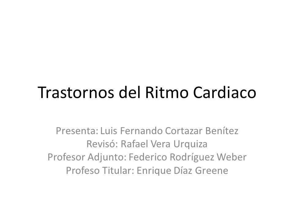 Trastornos del Ritmo Cardiaco