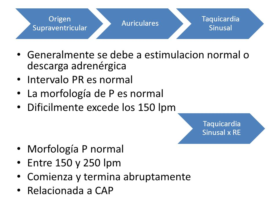 Generalmente se debe a estimulacion normal o descarga adrenérgica