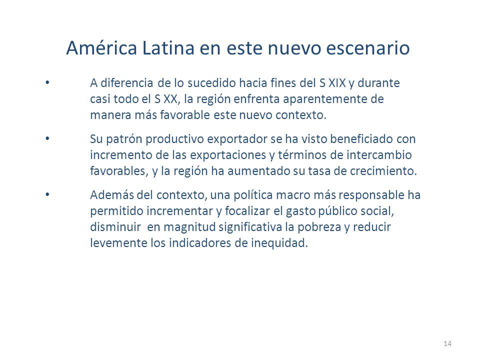 América Latina en este nuevo escenario