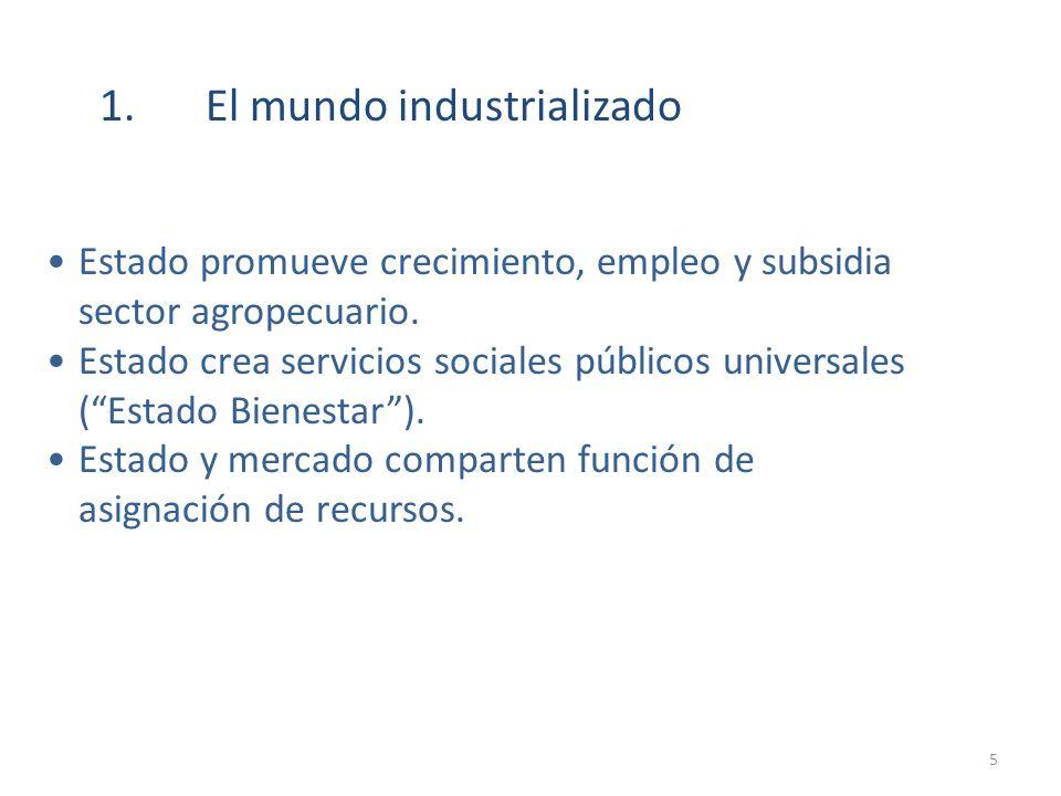 1. El mundo industrializado