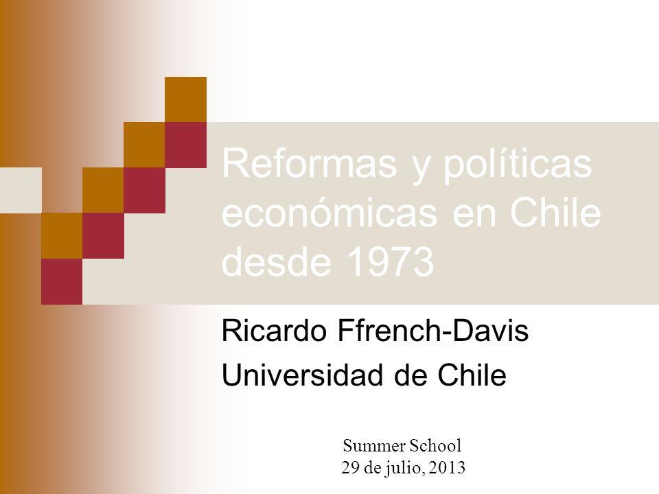 Reformas y políticas económicas en Chile desde 1973