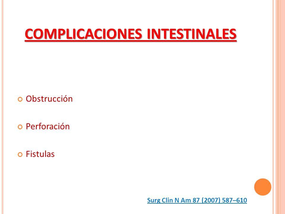 COMPLICACIONES INTESTINALES