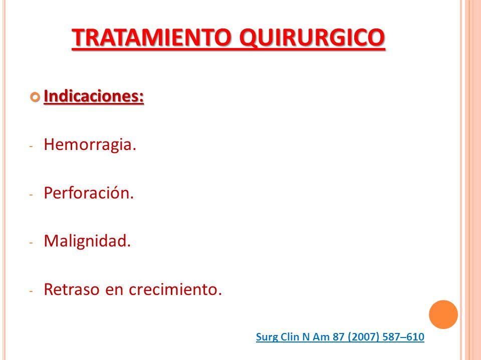 TRATAMIENTO QUIRURGICO