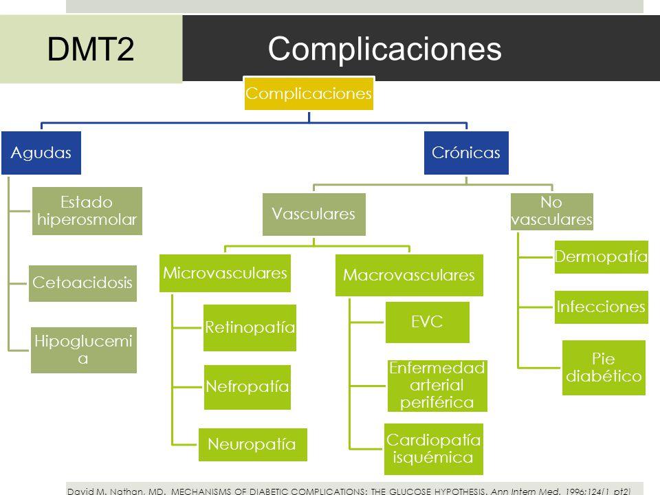 Complicaciones DMT2 Complicaciones Agudas Estado hiperosmolar
