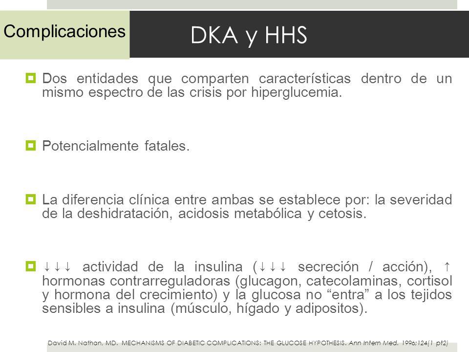 DKA y HHS Complicaciones