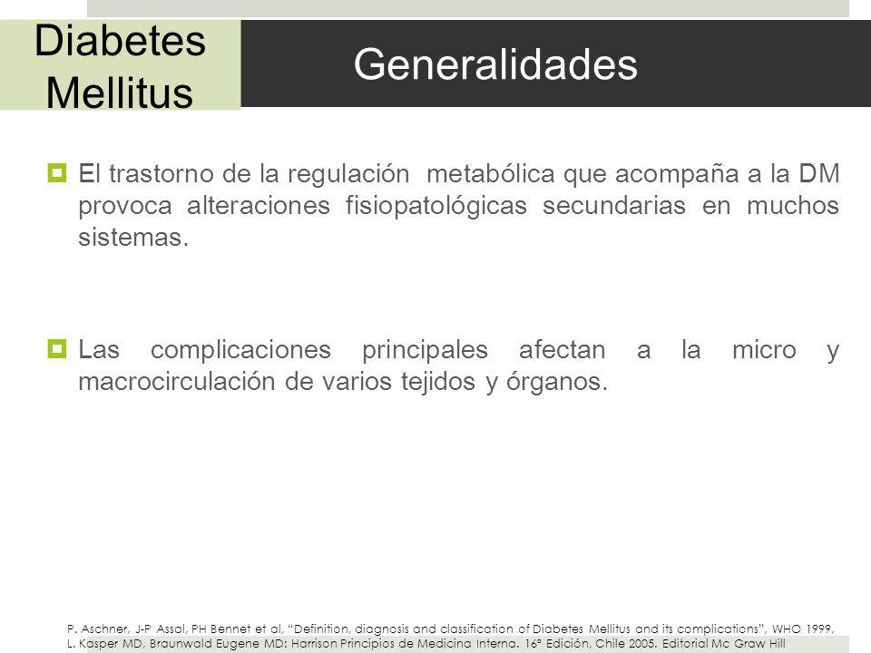 Diabetes Mellitus Generalidades