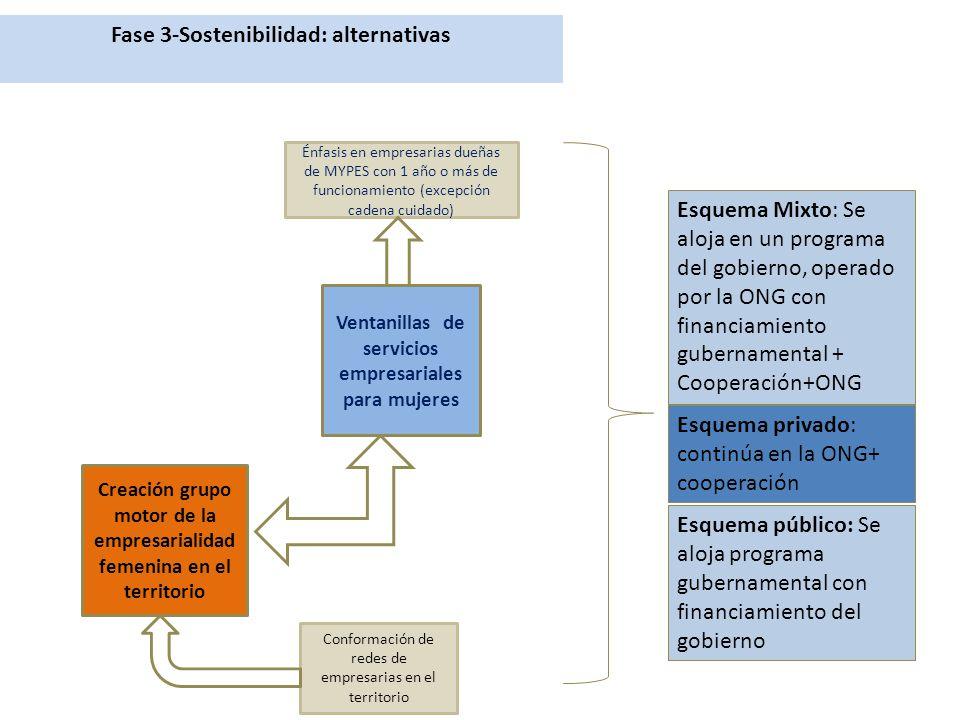 Fase 3-Sostenibilidad: alternativas