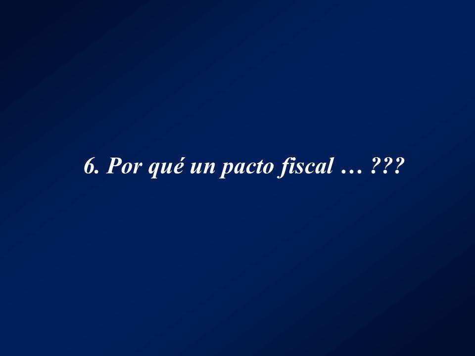 6. Por qué un pacto fiscal …