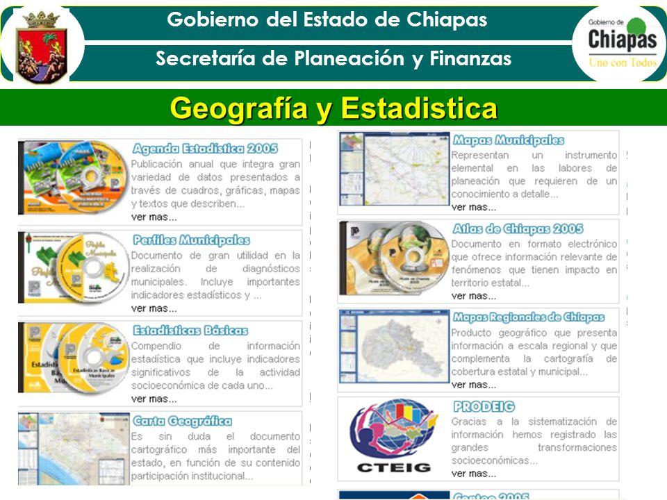 Geografía y Estadistica