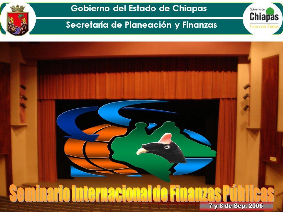 Seminario Internacional de Finanzas Públicas