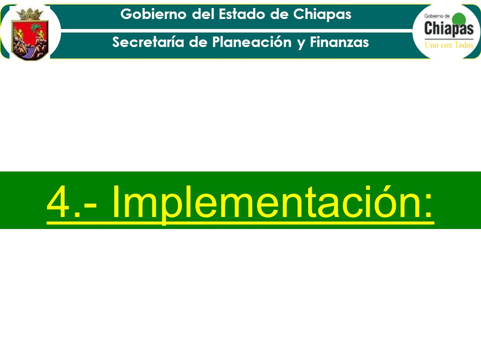 4.- Implementación: