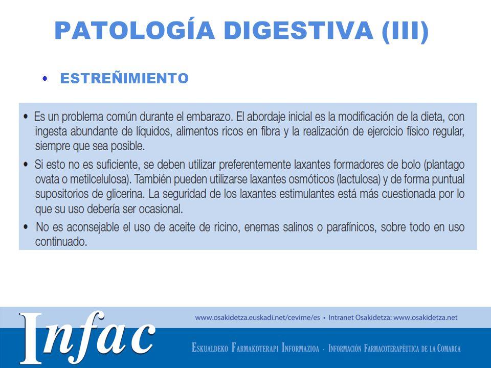 PATOLOGÍA DIGESTIVA (III)