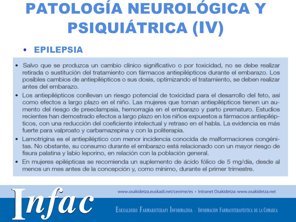 PATOLOGÍA NEUROLÓGICA Y PSIQUIÁTRICA (IV)