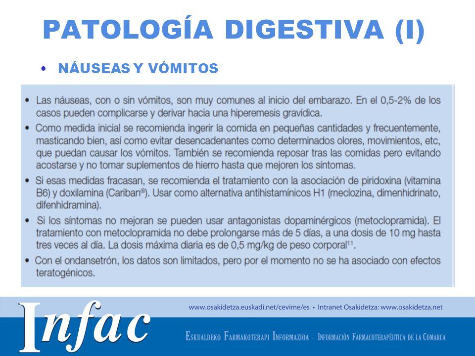 PATOLOGÍA DIGESTIVA (I)