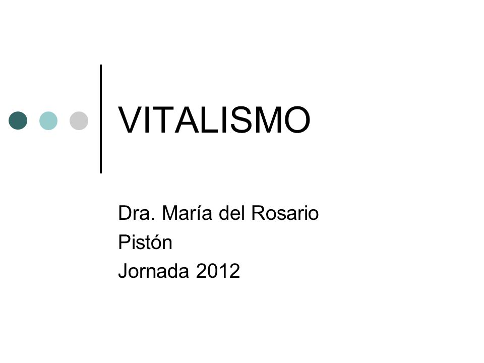 Dra. María del Rosario Pistón Jornada 2012