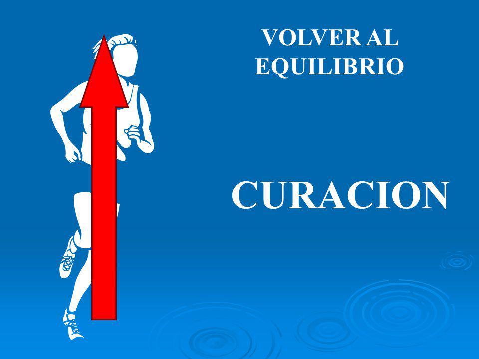 VOLVER AL EQUILIBRIO CURACION