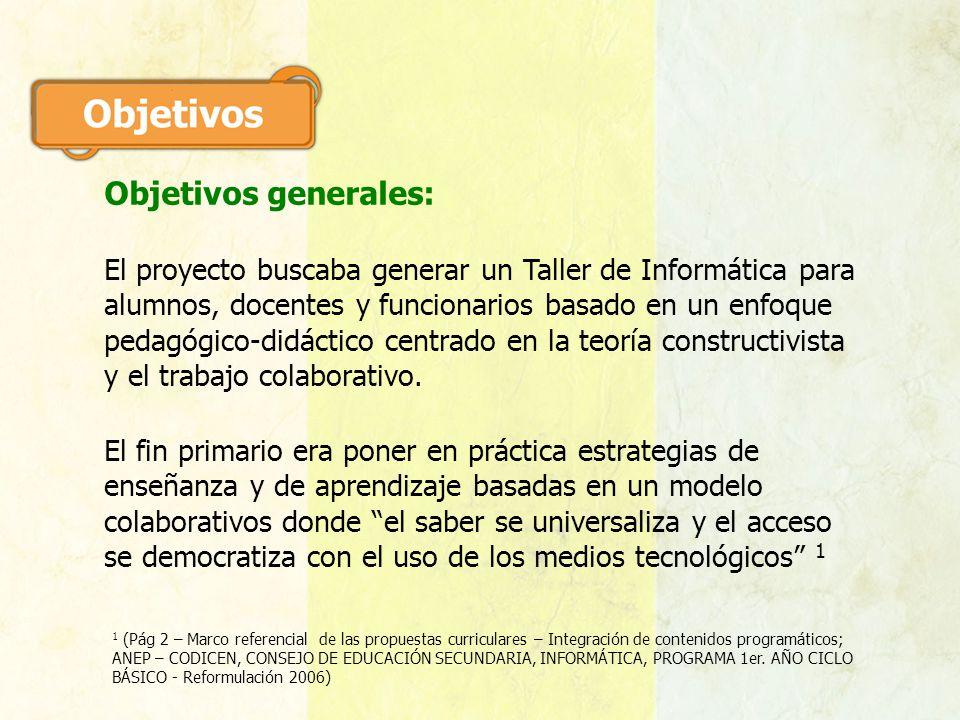 Proyecto secundaria docente lic esp mari n doninalli for Funcionarios docentes en el exterior