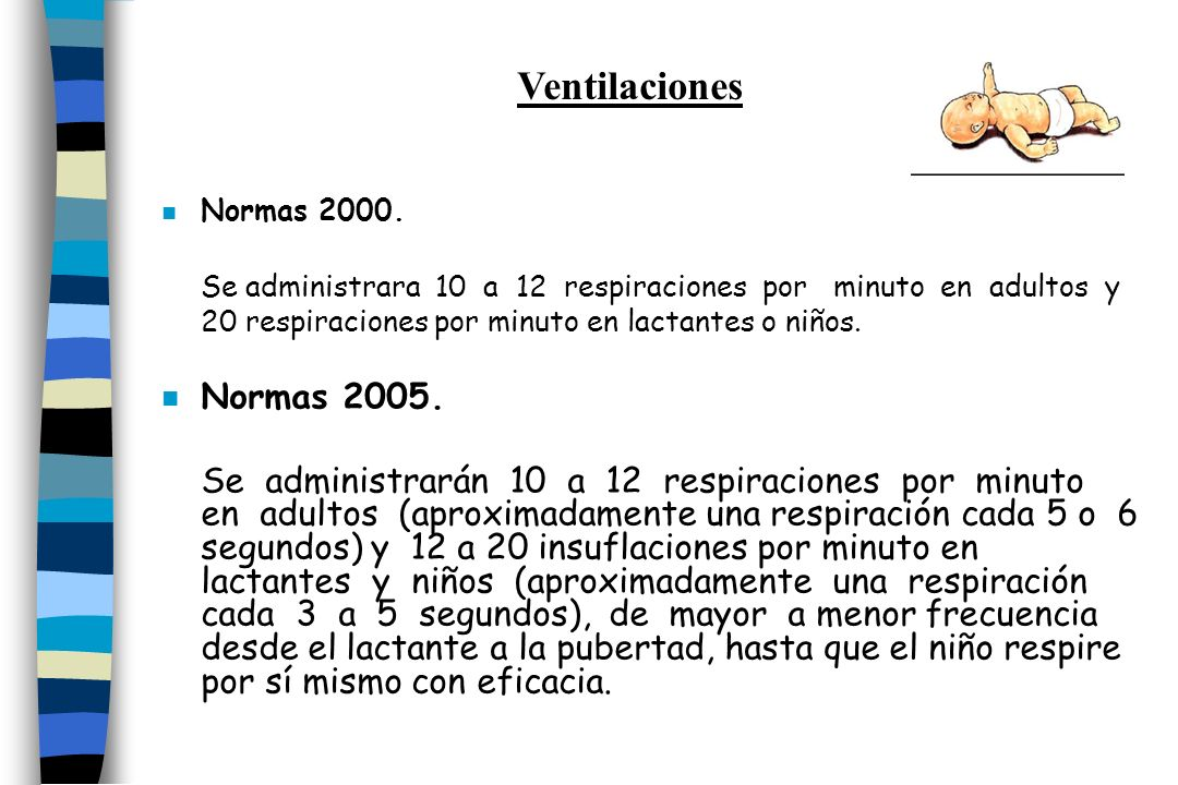 Ventilaciones Normas 2000.