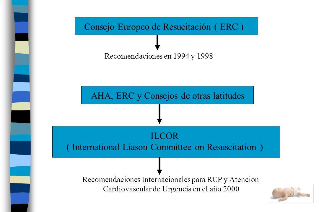 Consejo Europeo de Resucitación ( ERC )