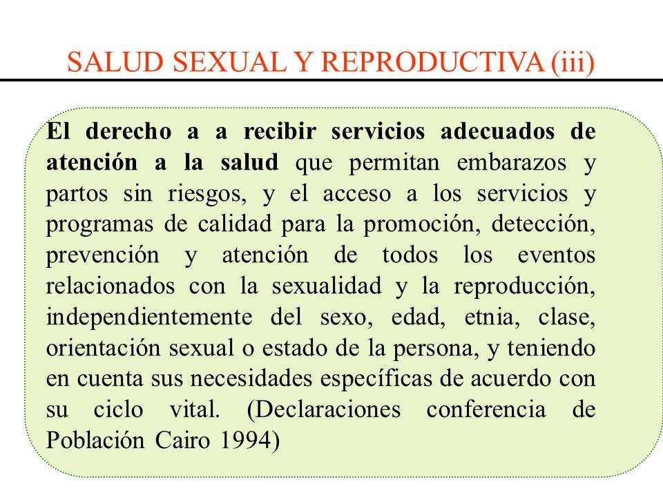 SALUD SEXUAL Y REPRODUCTIVA (iii)
