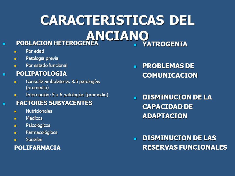 CARACTERISTICAS DEL ANCIANO