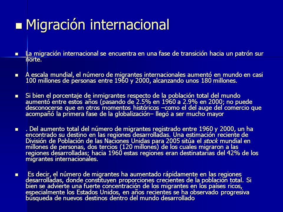 Migración internacional