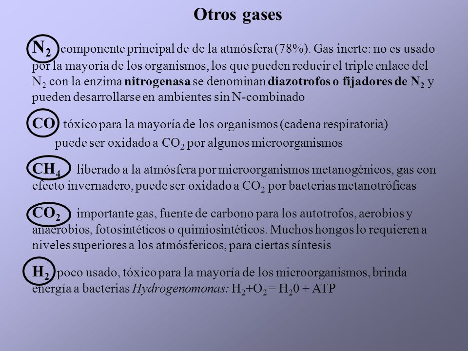Otros gases