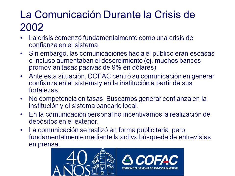La Comunicación Durante la Crisis de 2002