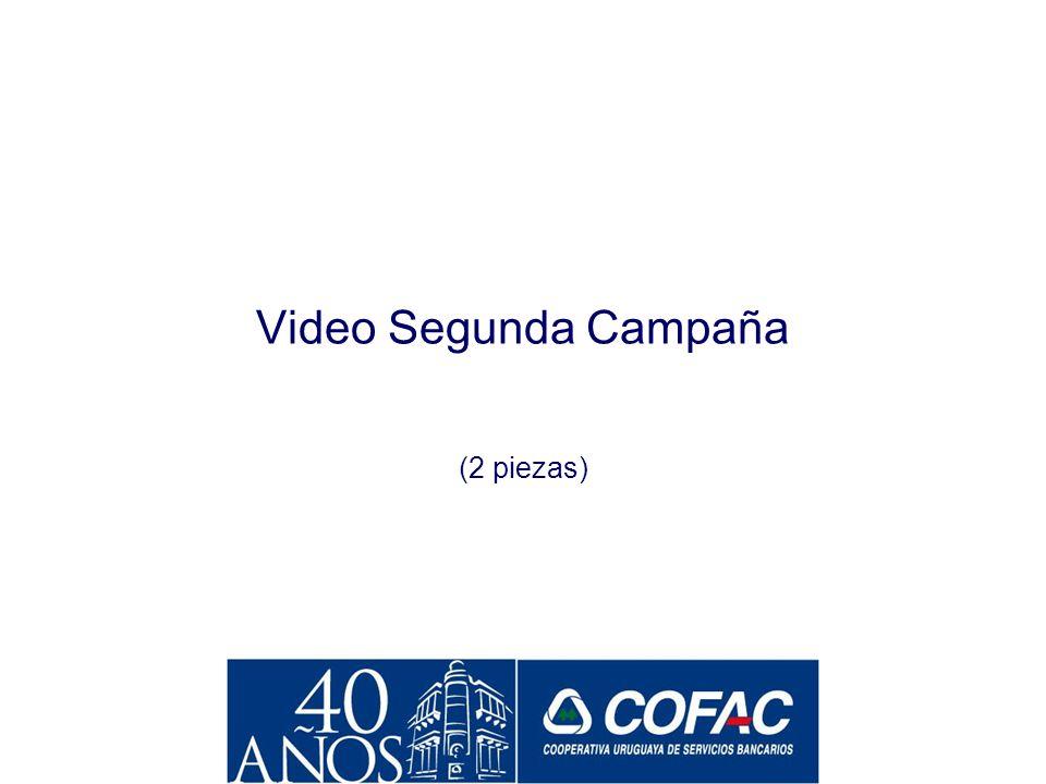 Video Segunda Campaña (2 piezas)