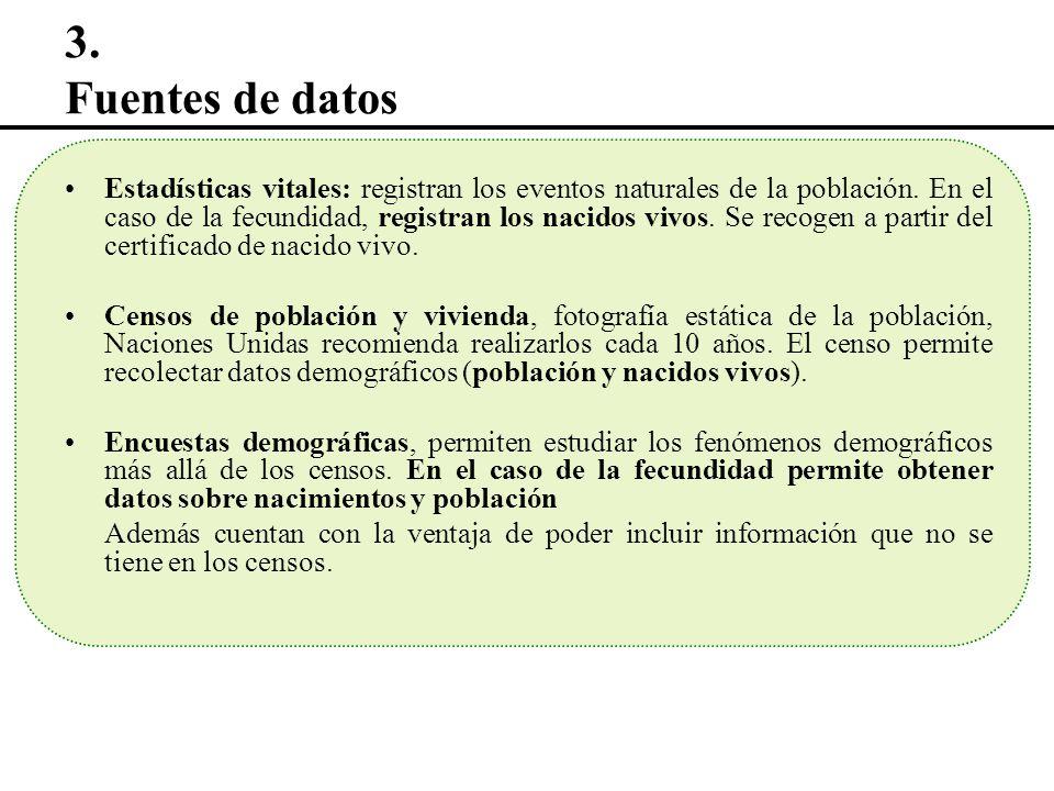 3. Fuentes de datos