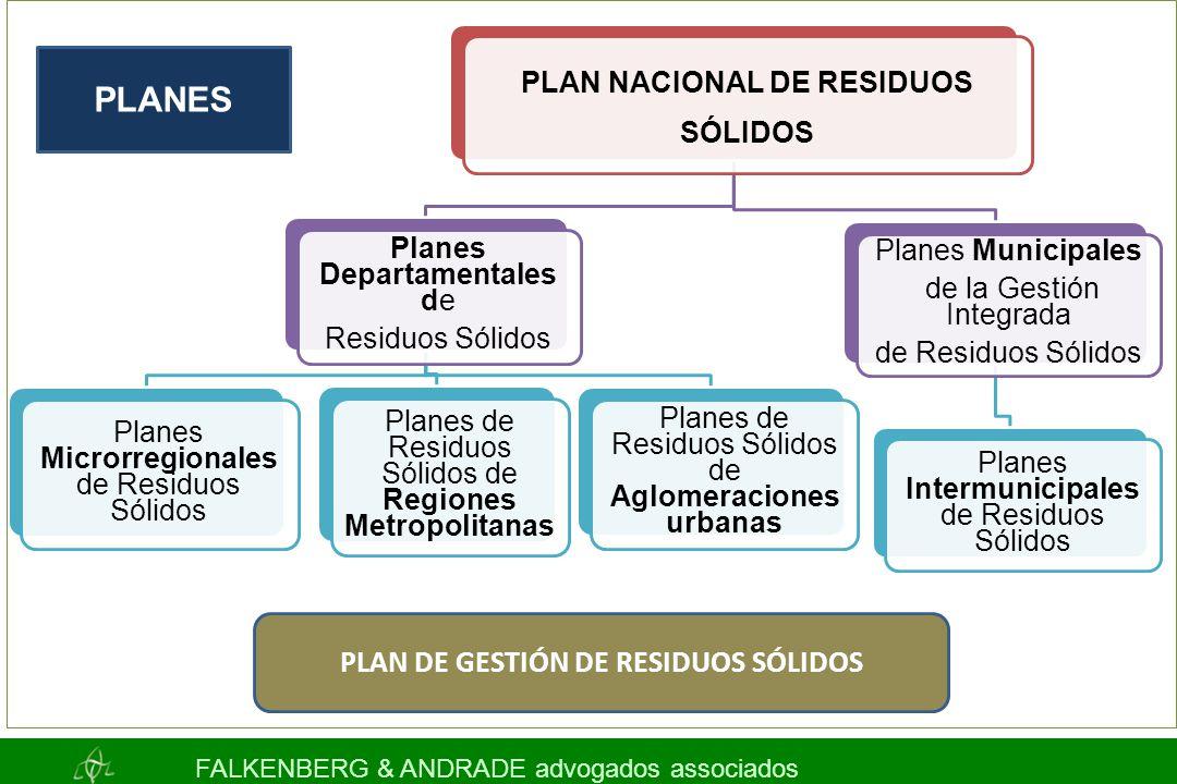 PLAN NACIONAL DE RESIDUOS SÓLIDOS