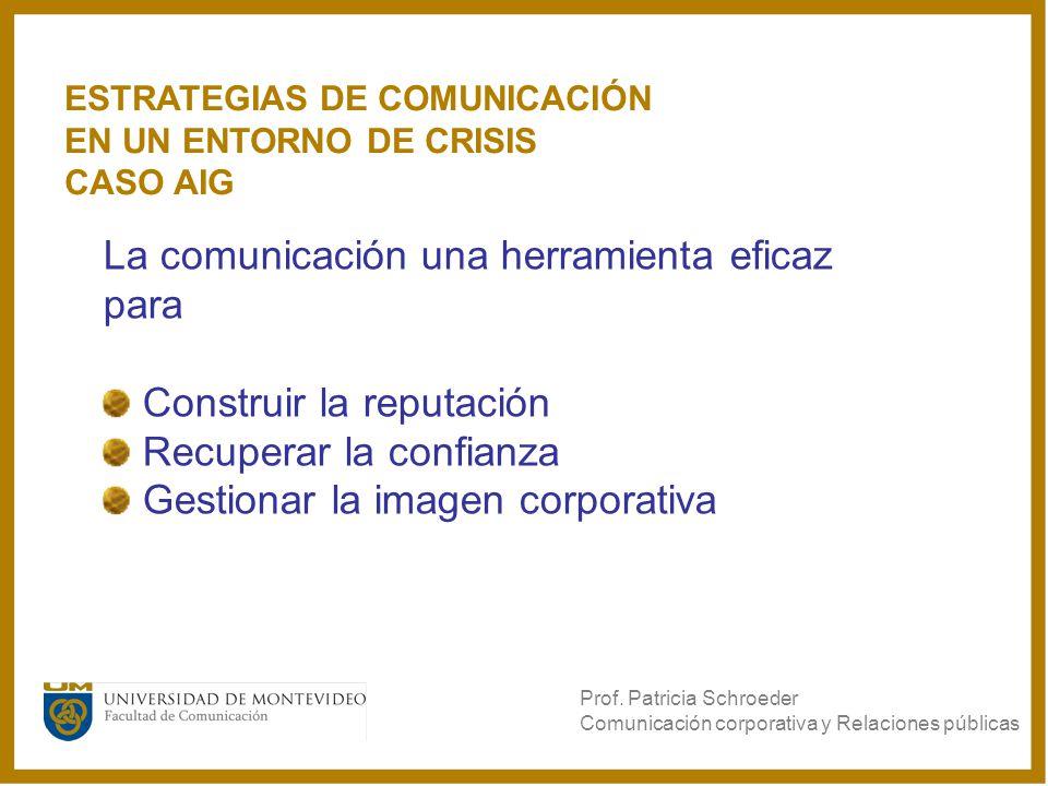 La comunicación una herramienta eficaz para Construir la reputación