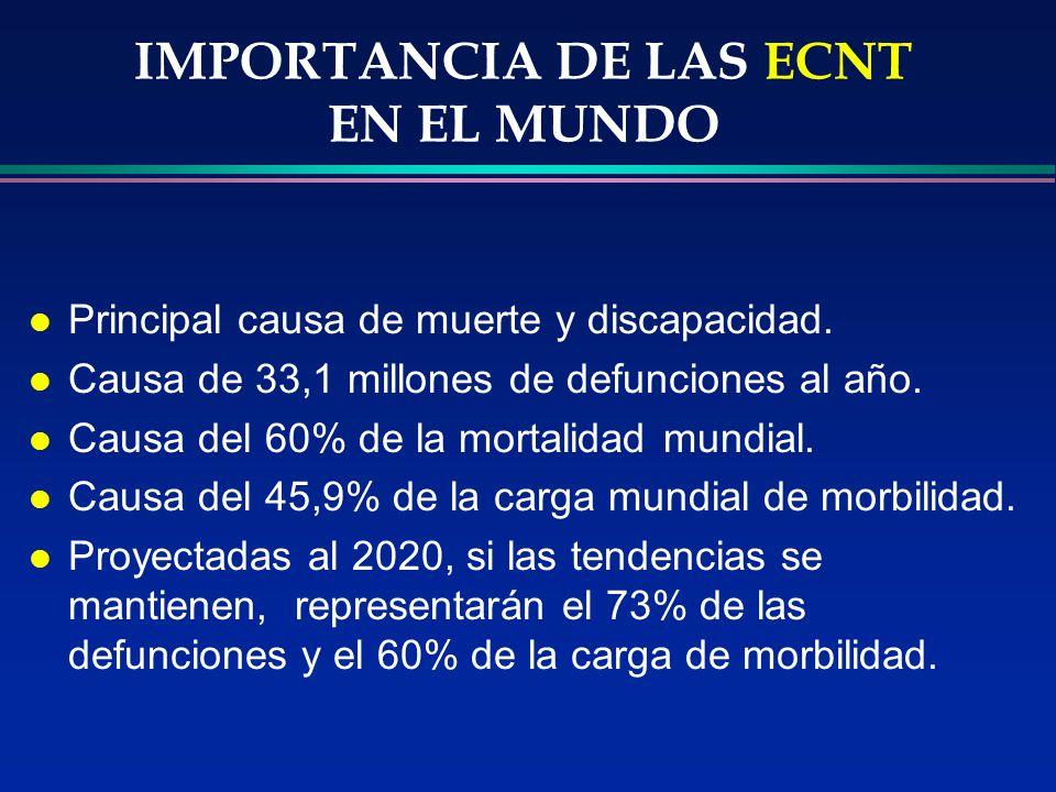 IMPORTANCIA DE LAS ECNT EN EL MUNDO