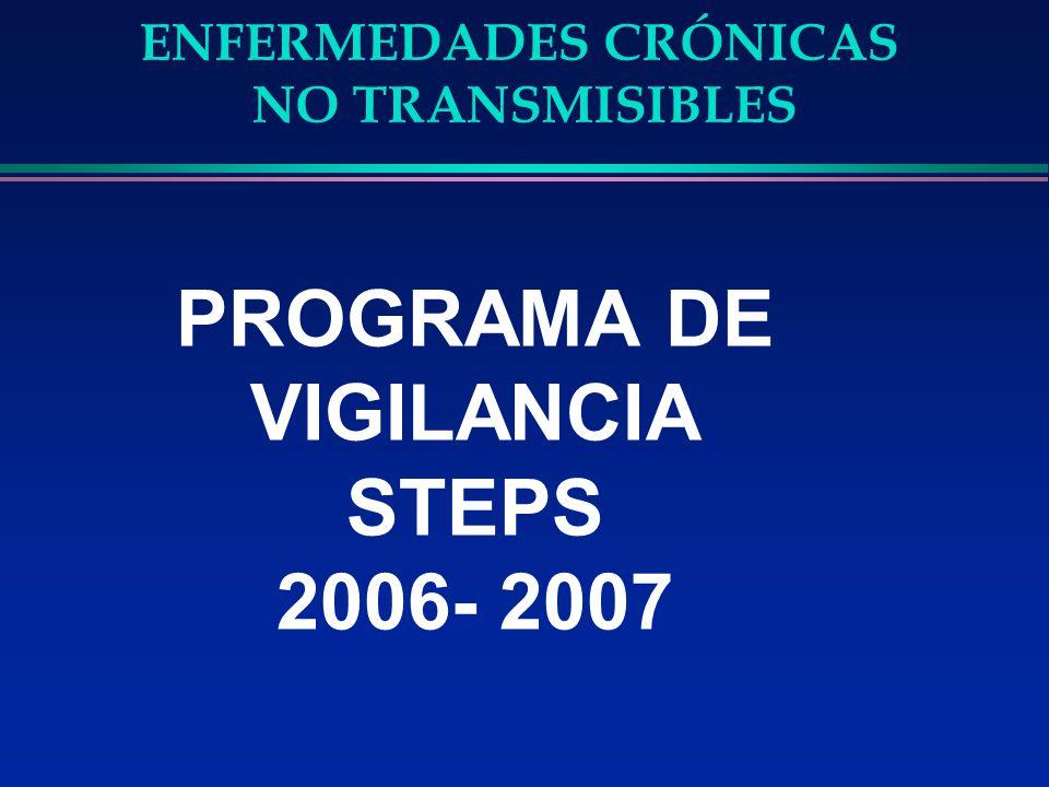 PROGRAMA DE VIGILANCIA STEPS 2006- 2007