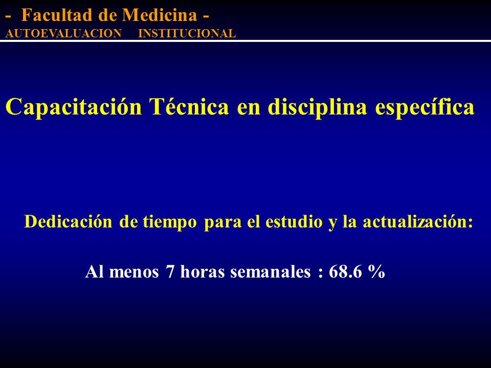 Capacitación Técnica en disciplina específica