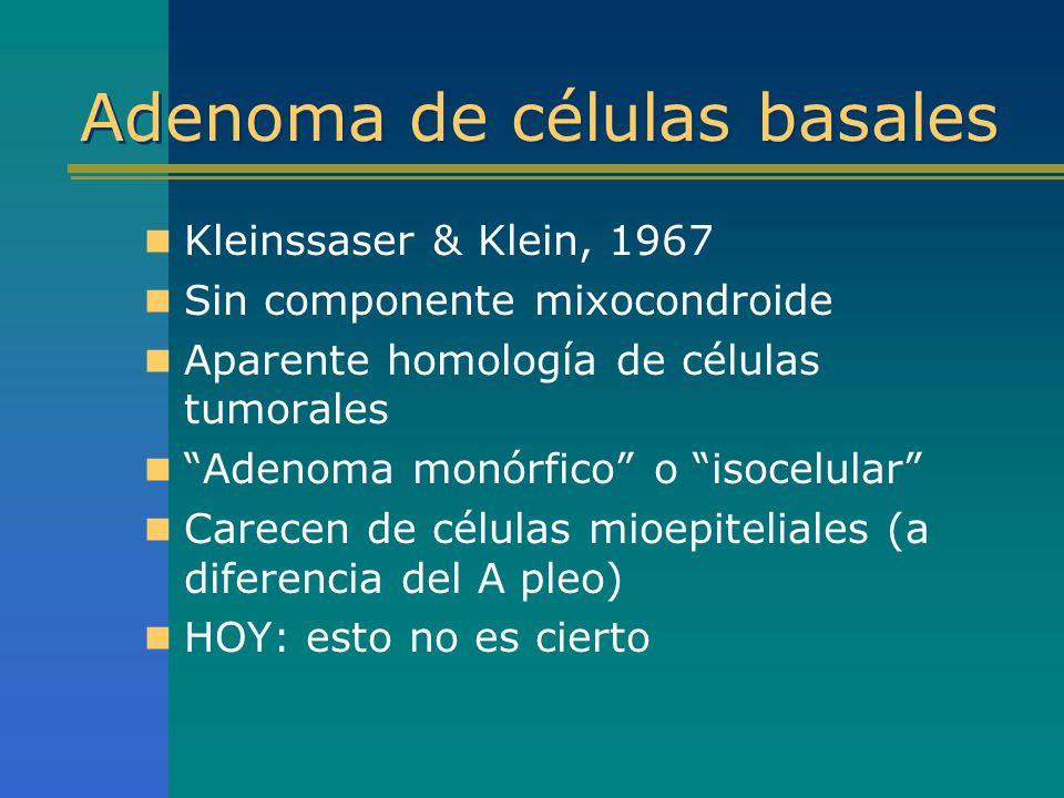 Adenoma de células basales