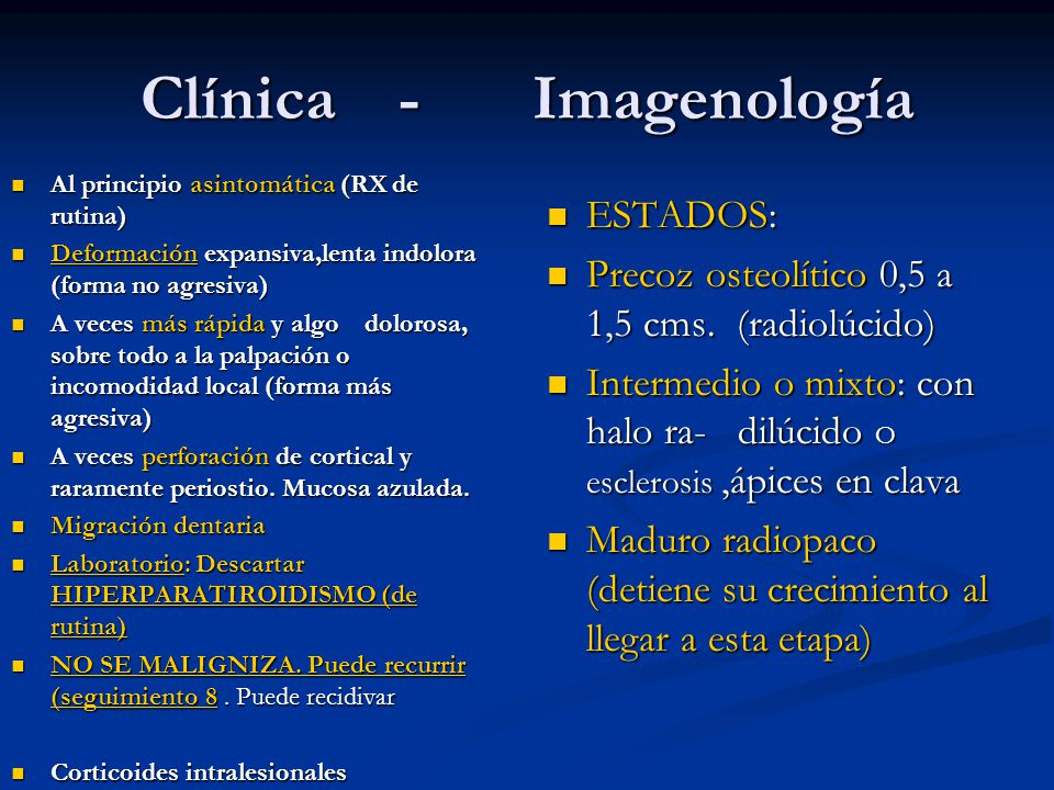 Clínica - Imagenología