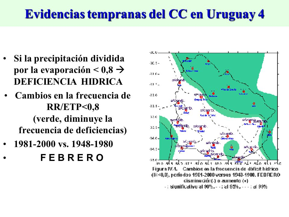 Evidencias tempranas del CC en Uruguay 4