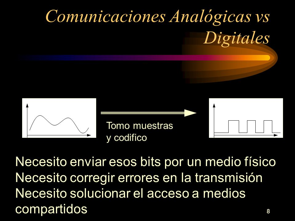 Comunicaciones Analógicas vs Digitales
