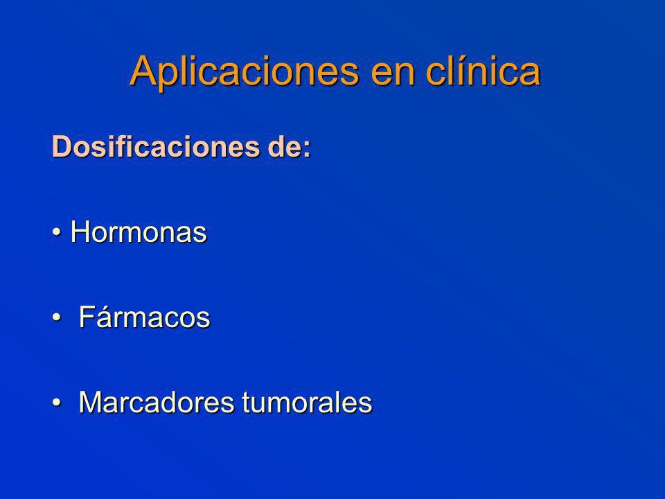 Aplicaciones en clínica