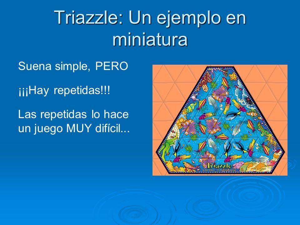 Triazzle: Un ejemplo en miniatura