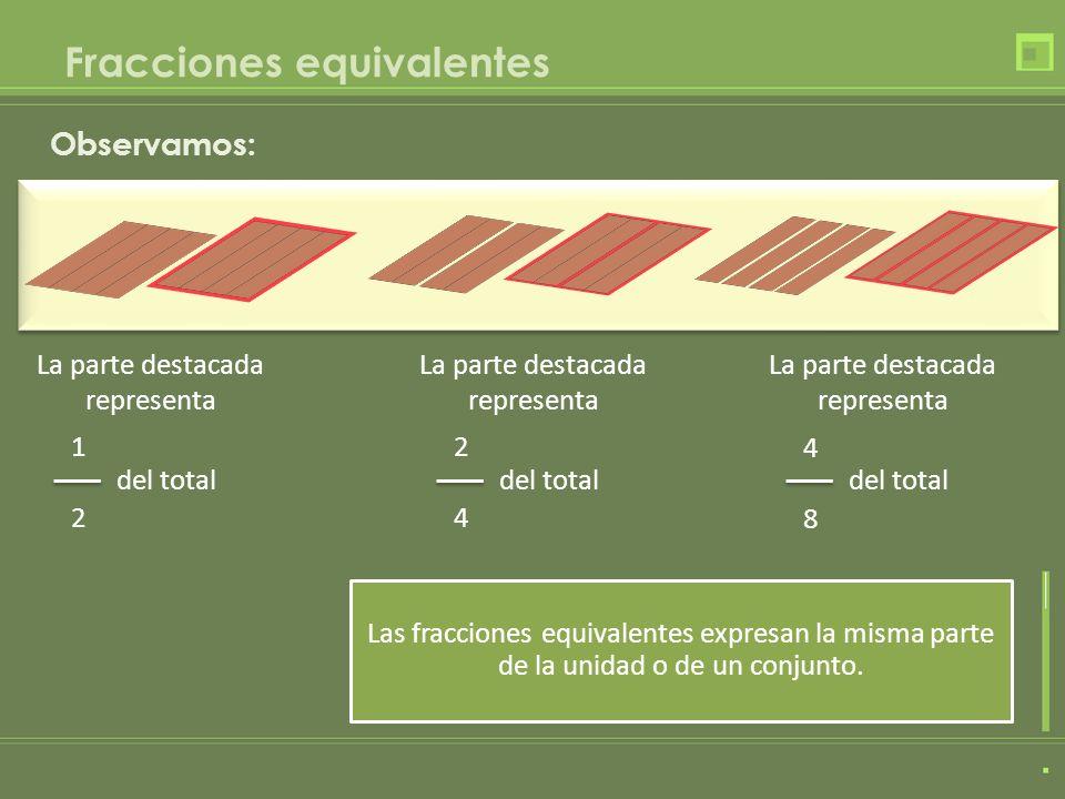 Fracciones equivalentes