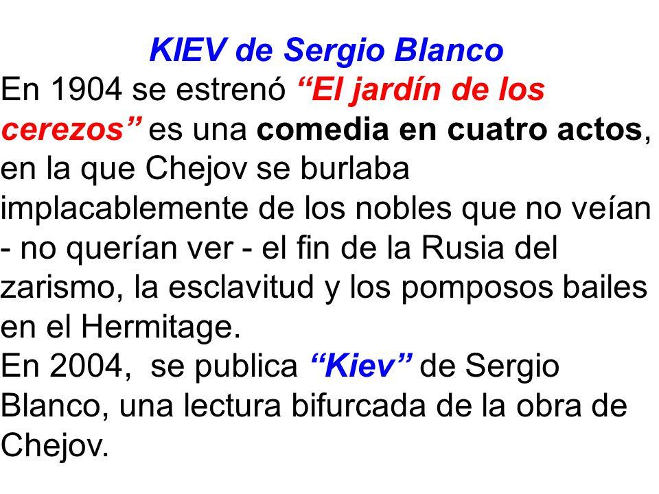 KIEV de Sergio Blanco