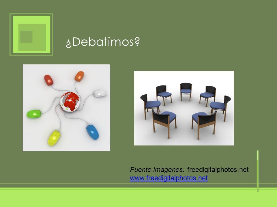 ¿Debatimos Fuente imágenes: freedigitalphotos.net
