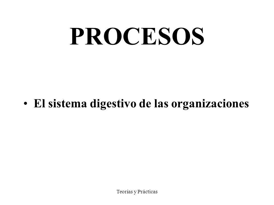 PROCESOS El sistema digestivo de las organizaciones