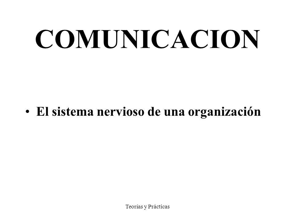 COMUNICACION El sistema nervioso de una organización